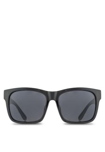 印花esprit台灣鏡腳輕量偏光太陽眼鏡, 飾品配件, 方框