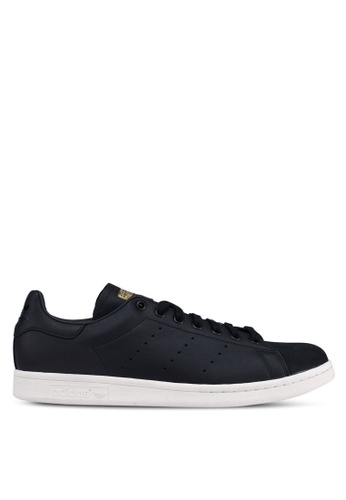 adidas black adidas originals stan smith premium EE032SH95600FAGS_1