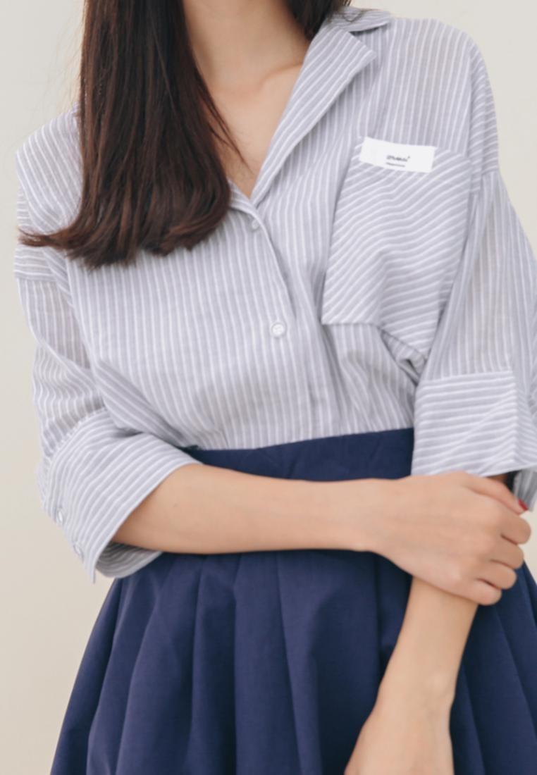 Blue Blue Pocket Shopsfashion in Shirt cOqpFqHwWR