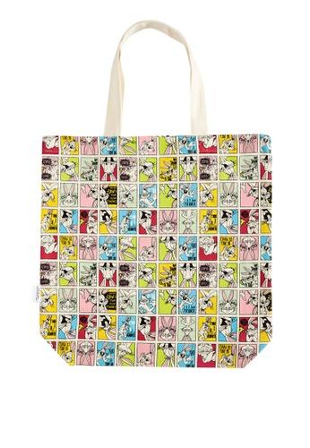 LC Waikiki multi Girl Bugs Bunny Printed Tote Bag BCD70KC3F13CC3GS_1