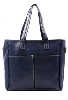0f777a6ba Vintage Paris blue Elisse Shoulder Bag / Cross Body Sling Bag with Pouch  and Purse VI567AC10HERPH_1