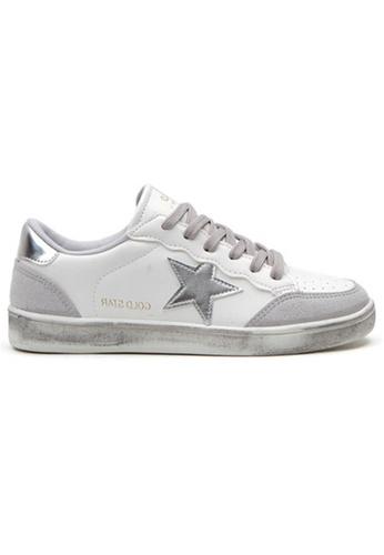Crystal Korea Fashion 灰色 韓國製新款小內增高做舊休閒鞋 28DAASH7284A0BGS_1