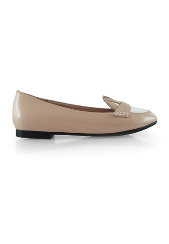 Gripz pink Incy Bunny Head Round Toe Loafer Flats 7EDA1SH5AF3070GS_1