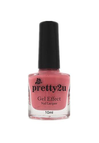 Pretty2u pink Gel Effect Nail Lacquer 3 PR716BE23WQEMY_1