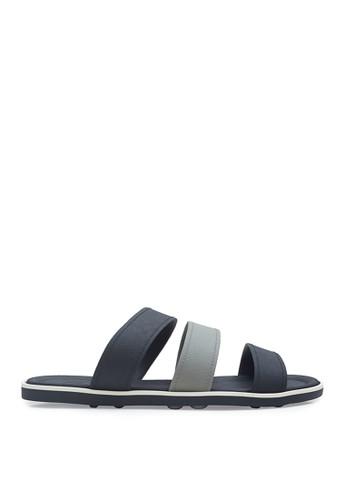 Minarno black Minarno Black Triple Strap Sandals 5A03DSH102EA03GS_1