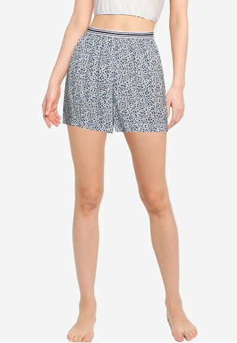 Old Navy multi High-Waisted Soft-Woven Pajama Shorts 51FAAAA941BE43GS_1