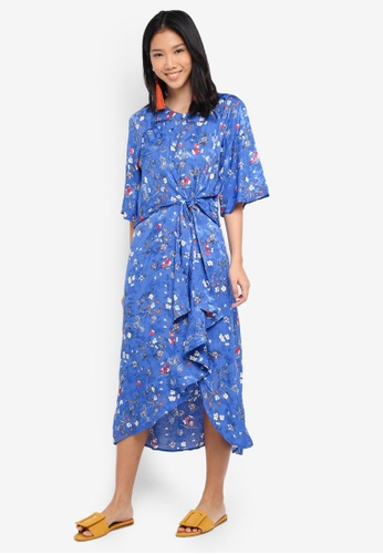 Y.A.S blue Yassola Dress E40B0AA7D826E8GS_1