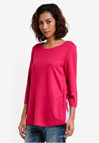 ESPRIT red 3/4 Sleeve Blouse A4DDEAAA45987FGS_1