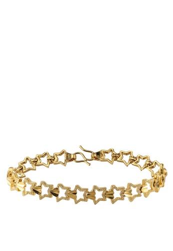 Megane gold Zaharah Gold Plated Bracelet FD694AC5E13AA9GS_1