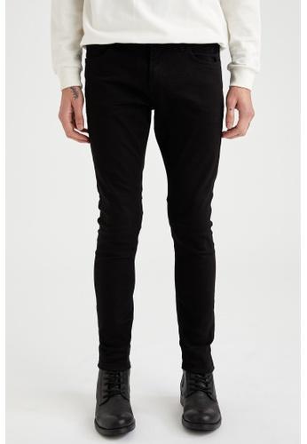 DeFacto black Man Denim Wall Trousers D0E63AAE4BBBC3GS_1