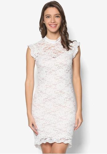 蕾絲高領貼身洋裝, 服飾, 洋esprit outlet hk裝