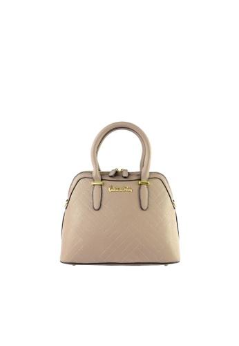 Valentino Rudy brown Valentino Rudy Italy Ladies Chevron Sling Satchel Handbag 040730-001 2C032AC05714E7GS_1