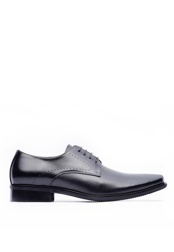 Life8 black Men Formal Leather Shoes-09718-Black LI283SH0GP81SG_1