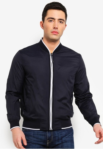 f826a2a23 Technical Fabric Bomber Jacket