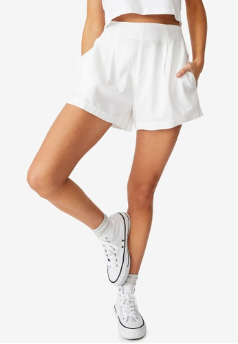 Cotton On white Paradise Shorts F30BCAA4C72560GS_1