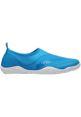 paperplanes blue Paperplanes-1362 Mesh Super Light Aqua Slip-Ons Shoes US Women Size PA355SH65QSSSG_1