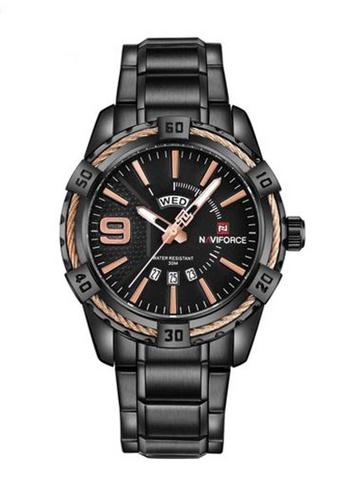 Naviforce black Naviforce Black Watch CB10EACBD2E13FGS_1