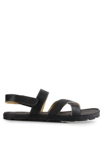 Marc & Stuart Shoes black Sandal Herk 2 MA456SH0UU5UID_1