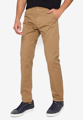 BLEND brown Basic Chino Pants 04740AAE0A279BGS_1