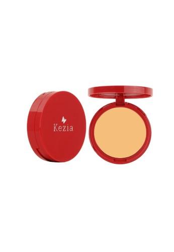 Kezia Skincare red Kezia Compact Powder Beige 90026BEC44DF47GS_1