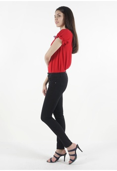 4efe5d4f4927 nicole Nicole Cotton Twill Skinny Pant RM 59.00. Available in several sizes