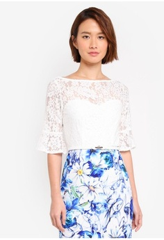 f9ad210dfb Paper Dolls. Lace Top 2 In 1 Printed Daisy Dress ...