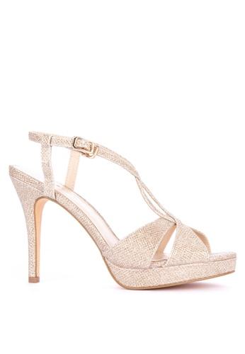 a7857aedafb9 Shop Matthews Cara High Heeled Sandals Online on ZALORA Philippines