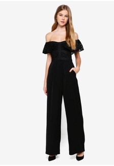 22efd5ae237 Misty Off The Shoulder Jumpsuit EECE2AA1C877A3GS 1