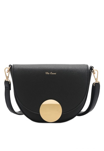 Wild Channel 黑色 Women's Sling Bag / Shoulder Bag / Crossbody Bag BABE1AC4D028D0GS_1