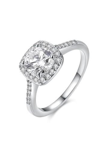 Tiaria white Tiaria Ring Aksesoris Cincin Lapis Emas Putih AKR002-C-7--K16 35A67ACF18C103GS_1