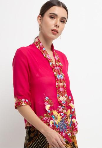 Batik First pink Kebaya Classic Kupnat D67B4AA0D91A80GS_1