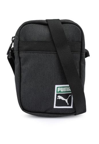 PUMA black Originals Compact Portable Bag A4A4DAC2AF988CGS_1