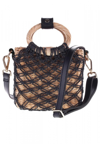 Style Cat black and brown Style Cat Cuba Macrame Sling C2A26ACDBB69B5GS_1