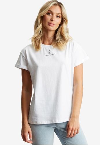 The Fated white Pisces T-Shirt B2E62AA42C9E3EGS_1