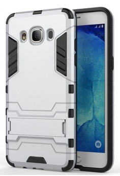 Hybrid Armor Defender Case with Stand for Samsung Galaxy J7 2016