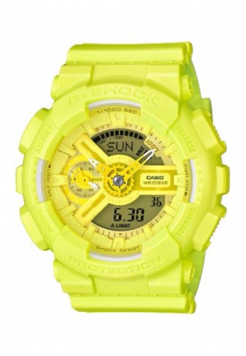 G-shock yellow CASIO G-SHOCK S SERIES GMA-S110VC-9A GS076AC52FYXMY_1