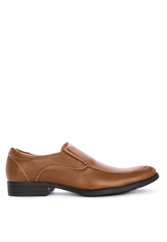 Preview brown Ziri Formal Shoes FEDFDSH0996415GS_1