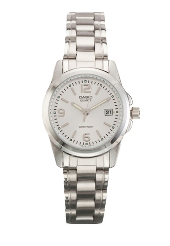 Casio silver Casio Enticer Analog Women's Silver Watch CA843AC86YUBMY_1