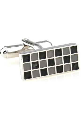 The Little Link Cufflinks black Mosaic (Black) cufflinks TH089AC0FSVVSG_1