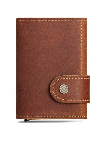 Twenty Eight Shoes Vintage Genuine Leather RFID Security Multifunctional Mini Wallet BP906 F694DAC668A85AGS_1
