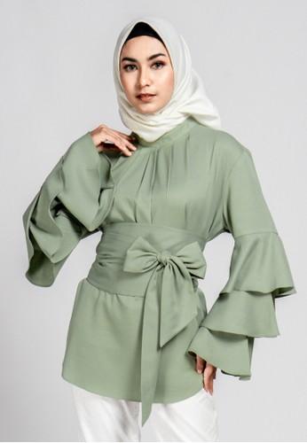 TUNIQUE green Tunique - Bianca Blouse 316D3AA50D7F88GS_1