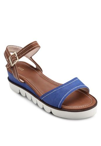 雙色厚底涼鞋, 韓系時尚, esprit 台北梳妝
