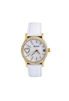 BONIA silver Bonia - B10014-2559S - Jam Tangan Wanita - White Rosegold  C3709AC67AE757GS 1 0d5e40fa02