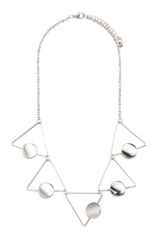 Hollow Triangle Necklace