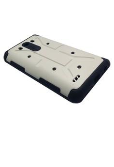 Shockproof Armor Case for LG G3 (White)