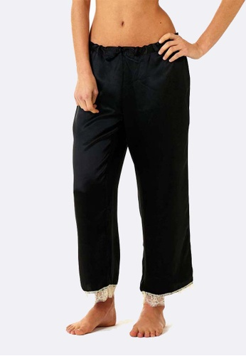 Deshabille black Chloe PJ Pants DE081US0HD9YSG_1