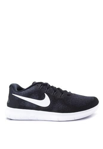 Nike black Men's Nike Free RN 2017 Running Shoes NI126SH60ZATMY_1