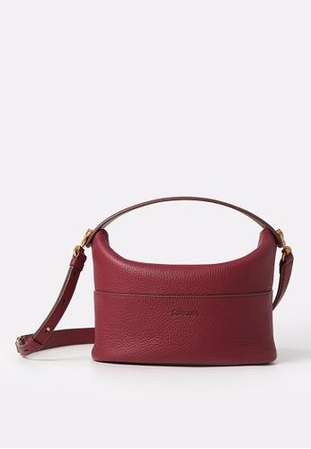 RABEANCO red RABEANCO NINA Shoulder Bag - Red 00417ACF3B73EDGS_1