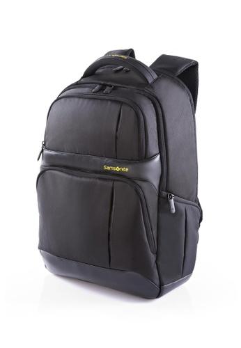 Samsonite black Samsonite Ikonn Laptop Backpack III SA186AC71XMMSG_1