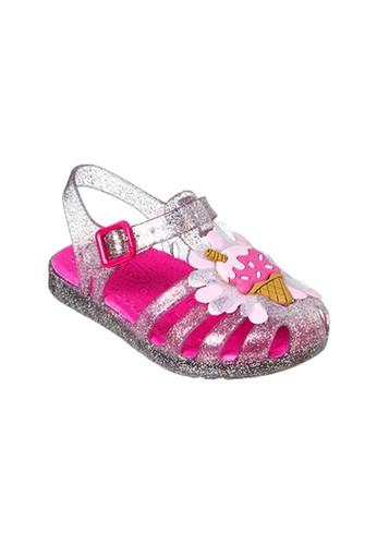 Worldcolors silver Sepatu Worldcolors Lily Kids - Gliter Silver 2 / Sandalia 9002FKS1D78EC9GS_1